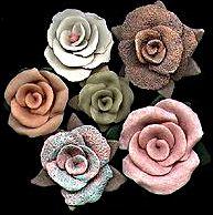 ככה מכינים ורדים [לא רק פימו,בצק,פלסטלינה קרקל,עלי כסף ועוד]